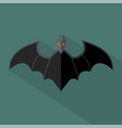 bat icon set of great flat icons design concepts vector image vector image