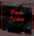 black friday sale background for banner cover vector image