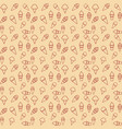 pattern ice cream gray background vector image vector image