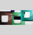 square background abstract squares on grey vector image vector image