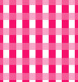 Tile pink plaid background and pattern vector image vector image