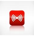 Wireless web icon Application button vector image