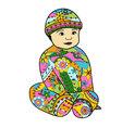 baby-boy-colorful vector image vector image