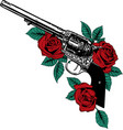 Guns on the flower and