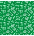 School Seamless Pattern vector image vector image