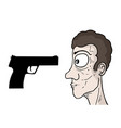violence vector image
