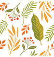 atumnal leaves seamless vector image