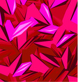 Background design in red color vector image vector image