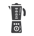 blender solid icon household and appliance vector image vector image