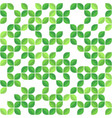 green leaves seamless pattern vector image vector image