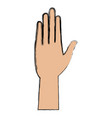 hand people health care concept vector image