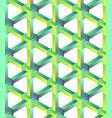 hexagonal geometric pattern vector image