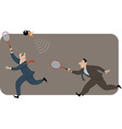 Risk in trading vector image vector image
