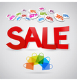 sale colour vector image vector image
