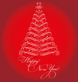 CHRISTMAS TREE resize vector image