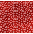 Christmas Snowflakes Seamless Pattern vector image vector image