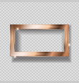 gold paint glittering textured frame on vector image vector image