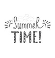 hand-lettering quotes summer vector image vector image
