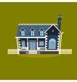 House building cartoon vector image vector image