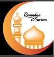 ramadan kareem design vector image