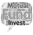 Should You Invest In Mutual Funds Or Stocks text vector image vector image