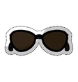 sunglasses female fashion icon vector image