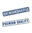 Two Premium Quality grunge rubber stamps vector image