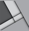 abstract gray arrow design modern vector image