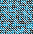 angular blue pattern the colors of the shapes at vector image