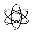 atom molecule biology science structure vector image vector image