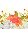 Vintage Abstract background with floral branch vector image vector image