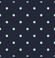 blue polka dot seamless pattern retro background vector image