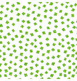 clover leaf irish luck colored background vector image vector image
