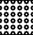 contour beauty flower decoration background vector image