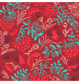 Fall season seamless pattern vector image