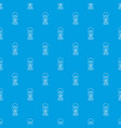 lantern candle pattern seamless blue vector image