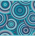 marine circle seamless pattern vector image
