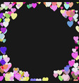 random heart background design - valentines day vector image vector image