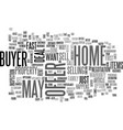 what you can do to sell your home fast text word vector image vector image