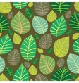 Background of leaves Seamless vector image