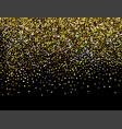 color glitter background for greeting card vector image vector image