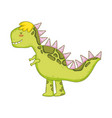 cute tyrannosaurus rex character vector image