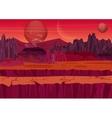Fairy game Sci-fi Alien Landscape Nature on vector image vector image