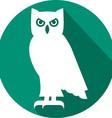 Owl Icon vector image vector image