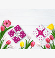 presents for mothers composition vector image vector image
