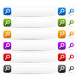 search bars buttons and symbols vector image