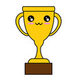 trophy icon image vector image vector image