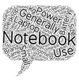 Your Guide To A Notebook text background wordcloud vector image vector image