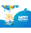 celebrating 35th years birthday vector image vector image