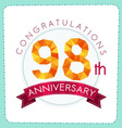 colorful polygonal anniversary logo 3 098